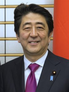 Abe Shinzo Primo ministro giapponese