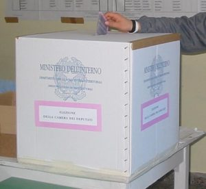 urna elettoraleelezioni  italiane