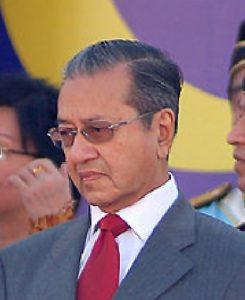 Mahathir bin Mohamad, ex primo ministro della Malesia