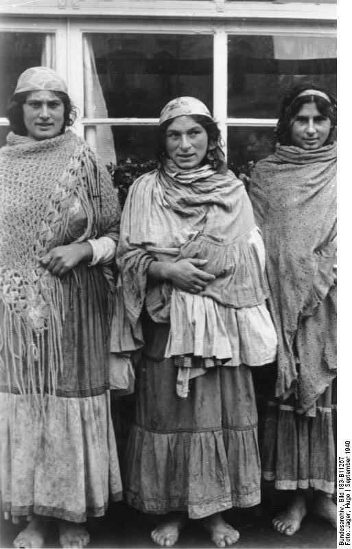 Donne Sinti Foto 1940